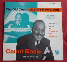 """COUNT BASIE LP ORIG NED 25CM 10""""  THE OLD COUNT AND THE NEW COUNT"""
