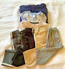 LOT!  7 Pieces Kids Boys Toddler 2t 24 mos. Clothes Sleepwear Pants Top EUC