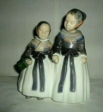 Vintage Royal Copenhagen Amager Girls # 1316 Priced To Sell Beautiful Piece
