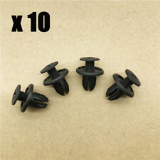 10x Motor Wheel Arch Lining, Splashguard Bumpers Plastic Trim Clips For MINI