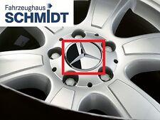 Mercedes Benz Chrom Rad  Abdeckung  Nabendeckel Nabenkappe für Alufelge 4 Stück