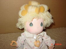 Vintage 1986 Precious Moments Sylvie Doll Girl #4584 Curlers