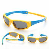 Kids Neck Hang Sunglasses Sporty Polarized Boys Girls Shades Children UV400 I367