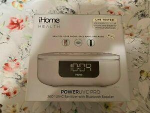 iHome POWER UVC PRO 360° UV-C Sanitizer with Bluetooth Speaker