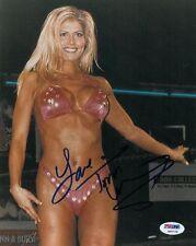 Torrie Wilson Signed Wrestling Diva Authentic 8x10 Photo PSA/DNA #G88768