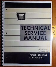 White Oliver 1555 1655 1755 1855 1955 Power Steering Control Service Manual 1/72