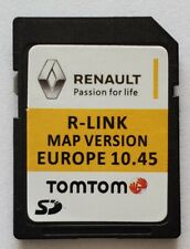 Carte SD GPS Europe 2020 - 10.45 - Renault R-Link