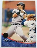 Don Mattingly Leaf 1994 MLB Trading Card #121 New York Yankees