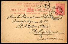 TRANSVAAL: (15928) NYLSTROOM postmark/Post Card