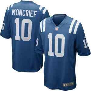 💯% Genuine NFL Donte Moncrief Indianapolis Colts Nike Game Jersey- Royal Medium