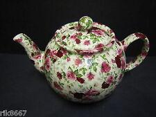 Heron Cross Pottery Summertime Chintz 6-8 Cup English Tea Pot