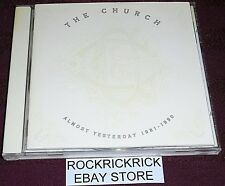 THE CHURCH - ALMOST YESTERDAY 1981 - 1990 -17 TRACK CD- (RAVEN / RVCD-43) 1,2