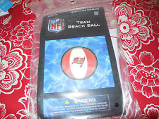 NFL FOOTBALL TEAM Tampa Bay Buccaneers Beach Ball NEW IN PACKAGE BRING TO GAME