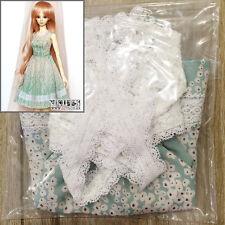 NEW mint flower dress set Super Dollfie DD, DDS BJD girl lace cardigan eLuts