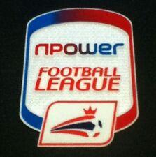 NPOWER FOOTBALL LEAGUE Camicia toppa su manica-ORIGINALE-NUOVO-UFFICIALE