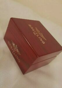 Vintage BREITLING watch box ; very nice ; BEAUTIFUL ; GOOD CONDITION  * HOT *