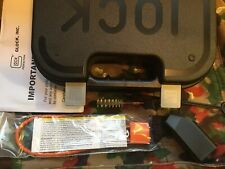 Glock Factory Pistol Case with Manual, Cleaning Rod, Brush, Lock, Loading Tool