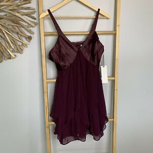 NEW Glamorous Size 10 S NWT Purple Ball Gown Prom Dress Cocktail Dance NWT