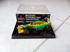 Benetton Ford B193 B Michael Schumacher Estoril #5 Minichamps 1/43 1993 F1