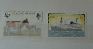 Falkland Islands : two used stamps