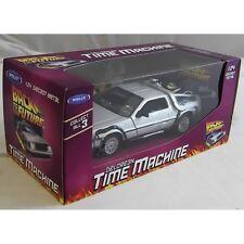 Welly TY3651 Volver Al Futuro Volver Al Futuro 1 DeLorean 1:24 escala Diecast Modelo de Coche