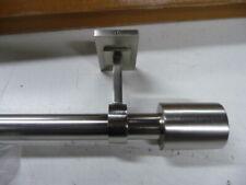 "West Elm Oversized Brushed Nickel Rod Drapery Curtain 108-144"""