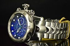 25903 Invicta 54MM Venom Blue Dial Silver Stainless Steel 1000M Swiss Band Watch