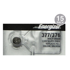 Energizer 377 / 376 SR626SW Watch Batteries (15 Pack)