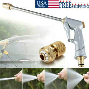High Pressure Power Spray Gun Water Garden Hose Nozzle Car Clean Washer Tool Kit