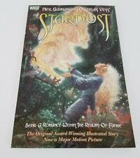Stardust Graphic Novel Neil Gaiman and Charles Vess Vertigo Comics 1998