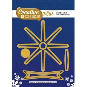 Creative Die Set 3D Gift Bow Set of 6   Gift Box Collection