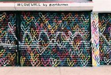 7x5ft Vinyl Photo Background Wall Graffiti Studio Colorful Picture Backdrop