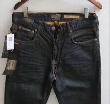 Third & Army Men Jeans 33 W x 32 Slim Stretch The Mechanic INDIGO New with Tags