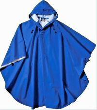 Rain Coat Blue Jacket Poncho Waterproof Protective Jacket Man Woman Clothing