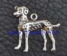 20pcs Tibetan silver charm dog pendant necklace pendants 29mm G3398