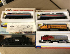 Lot Of 5 Ho Scale Locomotive Engines Bachmann Life-like Athearns