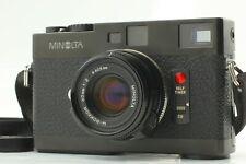 [Mint] Minolta CLE + M Rokkor 40mm f/2 Late Model Lens + Hood  From Japan #169