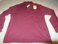 Tommy Bahama Maroon 1/4 Zip Sweater Jacket NWT Medium $110