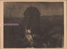 KATHE KOLLWITZ - BATTLEFIELD BAUERNKRIEG RARE  EAST GERMAN ART PRINT 1958 käthe