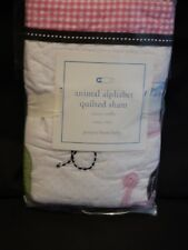Pottery Barn Kids Animal Alphabet Quilted Small Sham