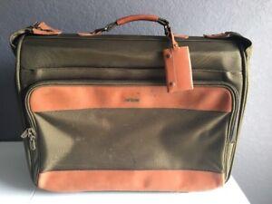 HARTMANN Luggage Ballistic Nylon Belting Leather Suitcase Rolling Garment Bag
