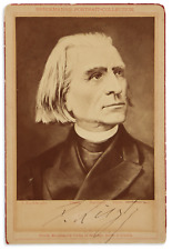 Franz Liszt (Composer): Signed Photograph