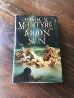 1997 Moon Sun Vonda McIntyre 1st Ed Book Rare HC DJ Orig Vtg SF