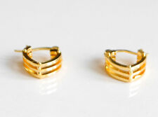 Gold Plated fashion Jewellery small earrings L16mm W14mm