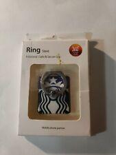 Starbucks Rotating Finger Ring Stand Holder For Cell phone