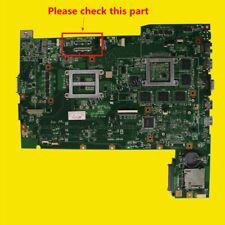 Für Asus G74SX Intel Laptop Mainboard 60-N56MB2800 GTX560M 3GB 2D LCD Interface