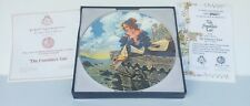 """""""The Franklin's Tale"""" Longton Crown Pottery G.A. Hoover Collector Plate, 8 1/2"""""""