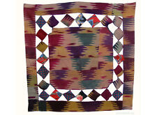 Orient Uzbek Patchwork Suzani MISSONI soffitto wedding SILK IKAT embroidered-C