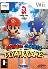 Mario and Sonic at the Olympic Games Wii Game *in Excellent Condition*