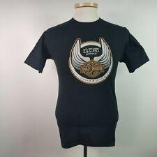 Harley Davidson Mens Small Black T Shirt 105 Year Anniversary Made in USA